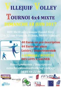 TOURNOI LOISIRS - JUIN 2017