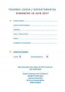fiche inscription - 18 juin 2017